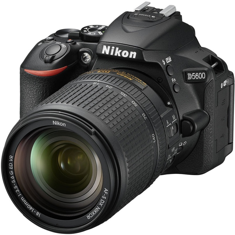 Купить - Nikon Nikon D5600 + 18-140VR (VBA500K002)