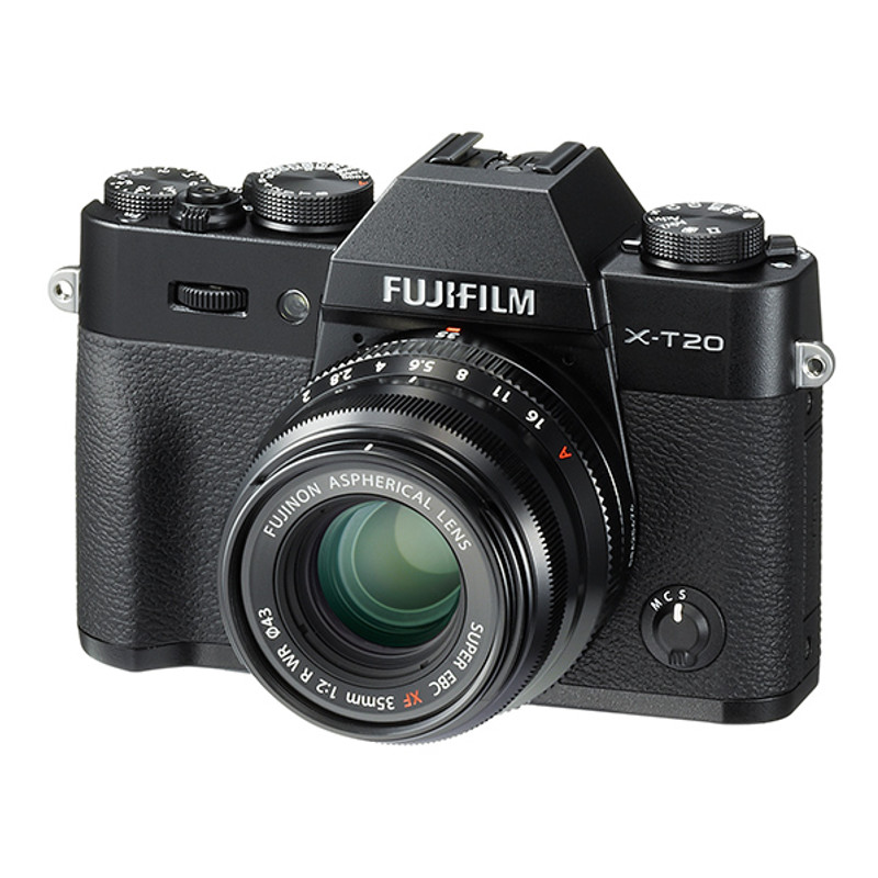 Купить - Fujifilm Fujifilm X-T20 + XF 35mm F2.0 Silver