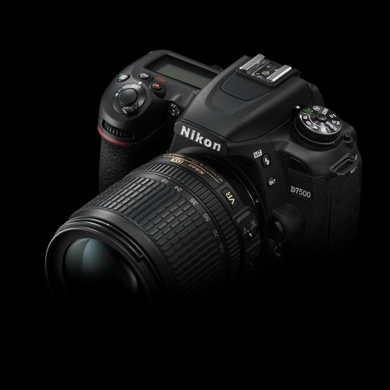 Купить - Nikon Nikon D7500 + AF-S DX NIKKOR 18-105 VR (VBA510K001) Официальная гарантия !!!