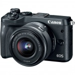 Фото - Canon Canon EOS M6 Kit 15-45 IS STM Black (1724C046)