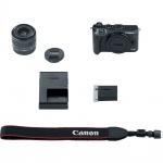 Фото Canon Canon EOS M6 Kit 15-45 IS STM Black (1724C046)
