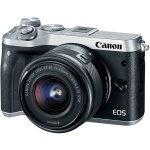 Фото - Canon Canon EOS M6 Kit 15-45 IS STM Silver (1724C043)