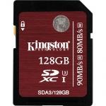 Фото - Kingston  Карта памяти Kingston 128GB SDXC C10 UHS-I U3 R90/W80MB/s 4K (SDA3/128GB)