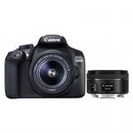 Фото - Canon Canon EOS-1300D 18-55+50 1,8 STM RUK (1160C083AA)