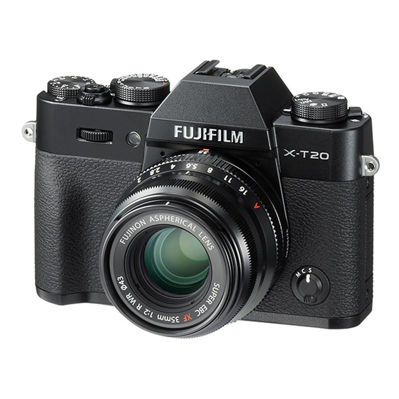 Купить - Fujifilm Fujifilm X-T20 + XF 50mm F2.0 R WR Kit Black