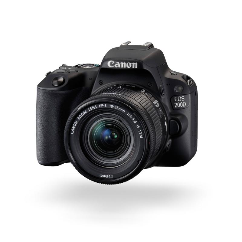 Купить - Canon Canon EOS 200D kit EF-S 18-55 IS STM Black + Сертификат на 1300 грн!!!