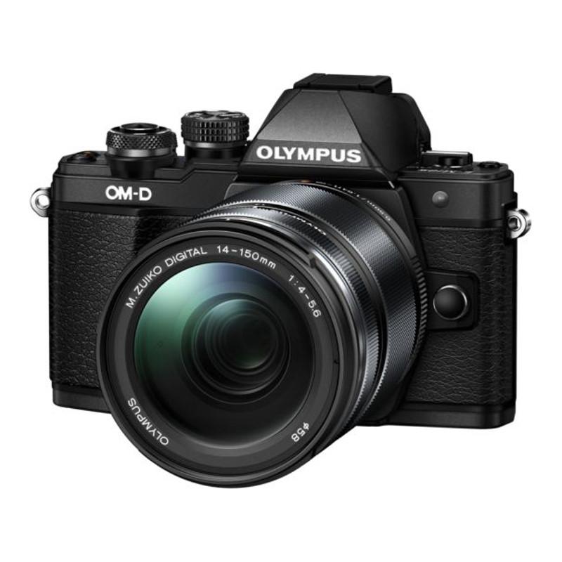 Купить - Olympus OLYMPUS E-M10 mark II 14-150 II Kit black/black (V207054BE000)