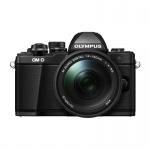 Фото Olympus OLYMPUS E-M10 mark II 14-150 II Kit black/black (V207054BE000)