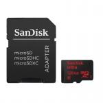 Фото - SanDisk Карта памяти SanDisk 128GB microSDXC Class 10 UHS-I R80MB/s Ultra Android + SD (SDSQUNC-128G-GN6MA)