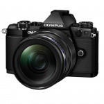 Фото - Olympus Olympus E-M5 mark II 12-40 PRO Kit + HLD-8 + BLN-1 black/black (V207041BE010)