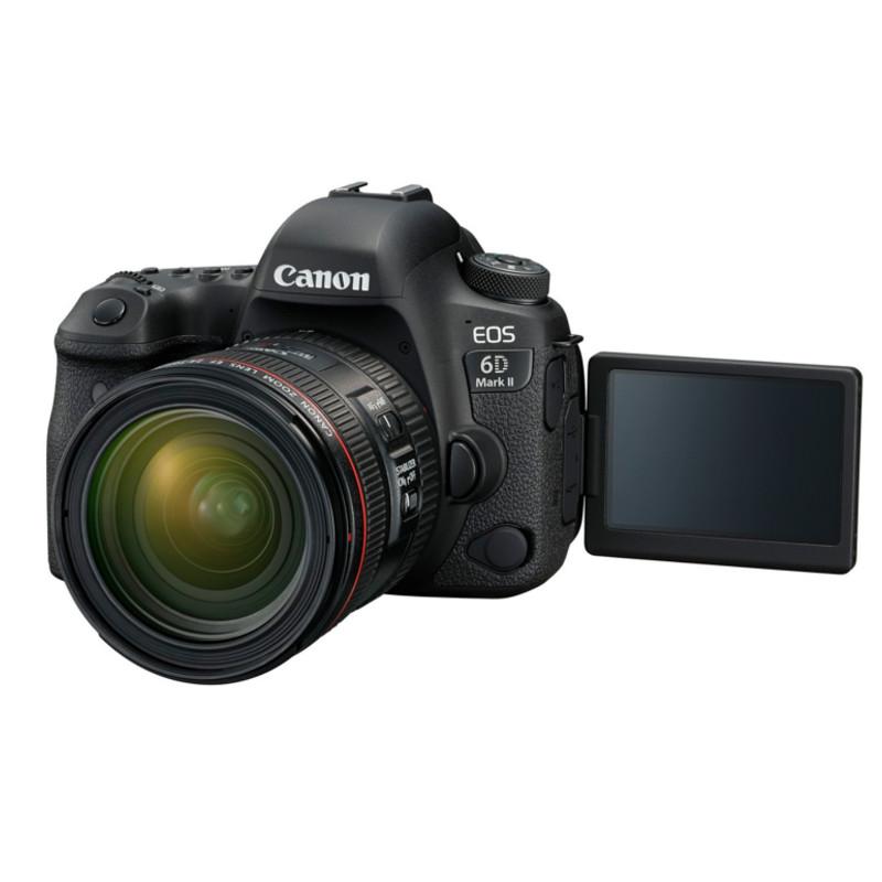 Купить - Canon Canon EOS 6D Mark II kit EF 24-70 f/4L IS (Официальная гарантия)