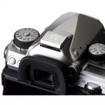 Фото Pentax Зеркальная фотокамера PENTAX K-1 Limited Silver (бат. блок, 2 аккумулятора, крышечка с гравировкой) (S0019967)