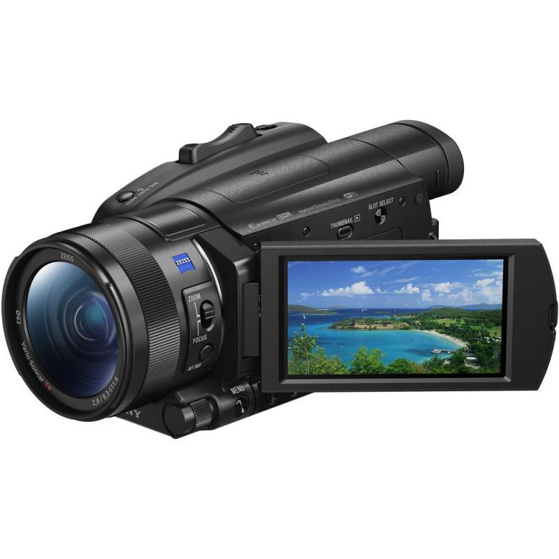 Купить - Sony Sony FDR-AX700 4K Camcorder  (FDRAX700B.CEE)