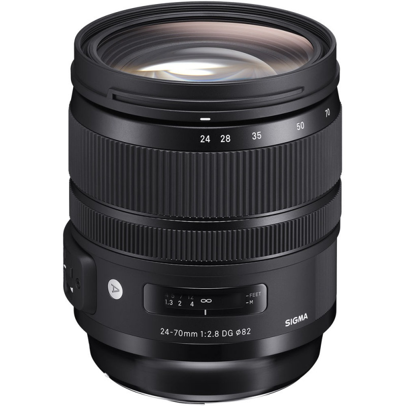 Купить - Sigma Sigma 24-70mm f/2.8 DG OS HSM Art Lens for Canon EF