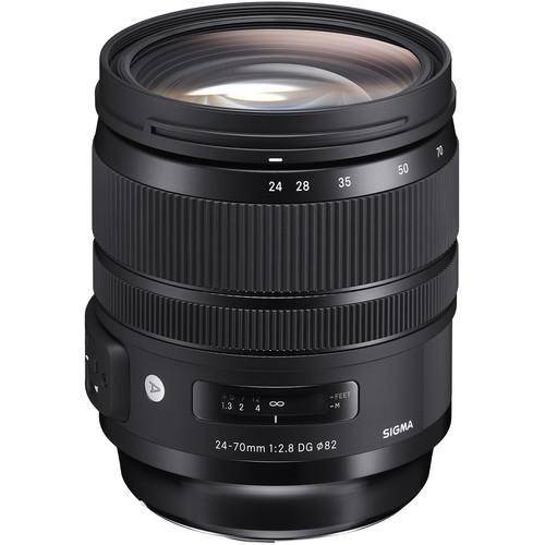 Купить - Sigma Sigma 24-70mm f/2.8 DG OS HSM Art Lens for Nikon F