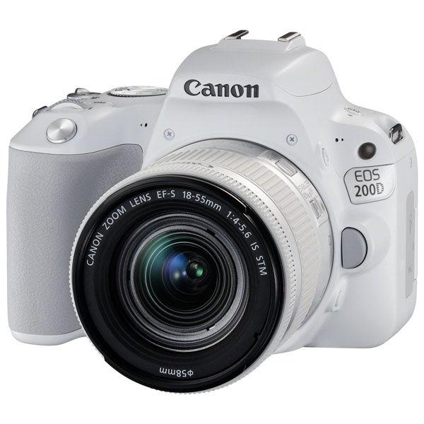 Купить - Canon Canon EOS 200D kit EF-S 18-55 IS STM White (Официальная гарантия)