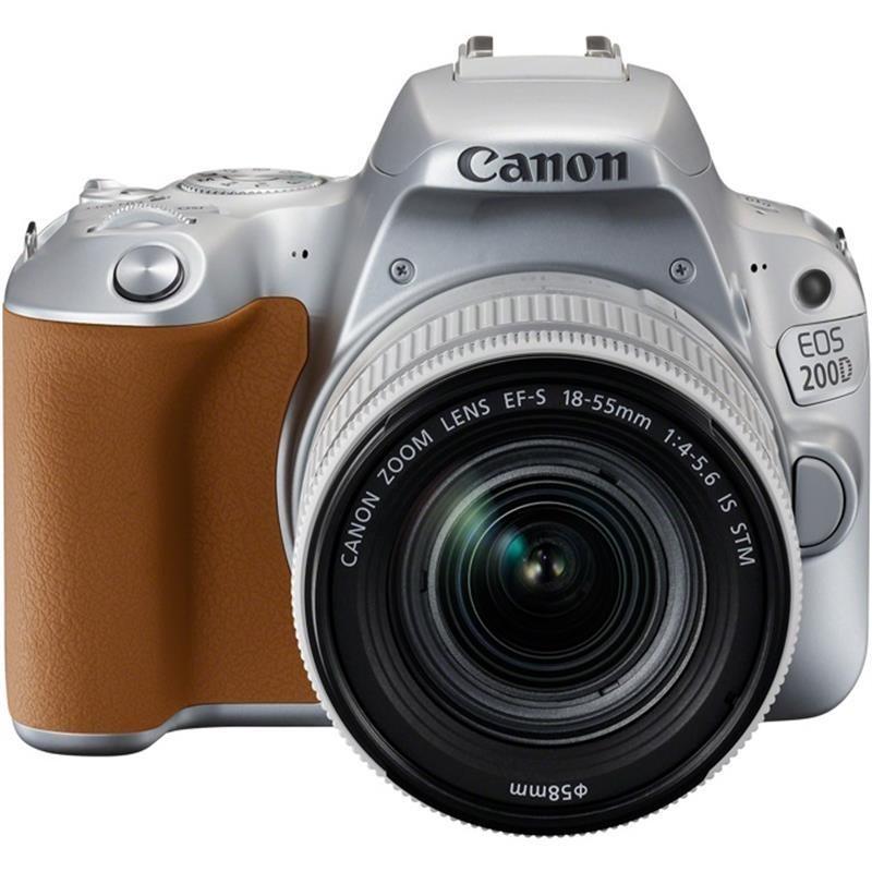 Купить - Canon Canon EOS 200D kit EF-S 18-55 IS STM Silver + Сертификат на 1300 грн!!!