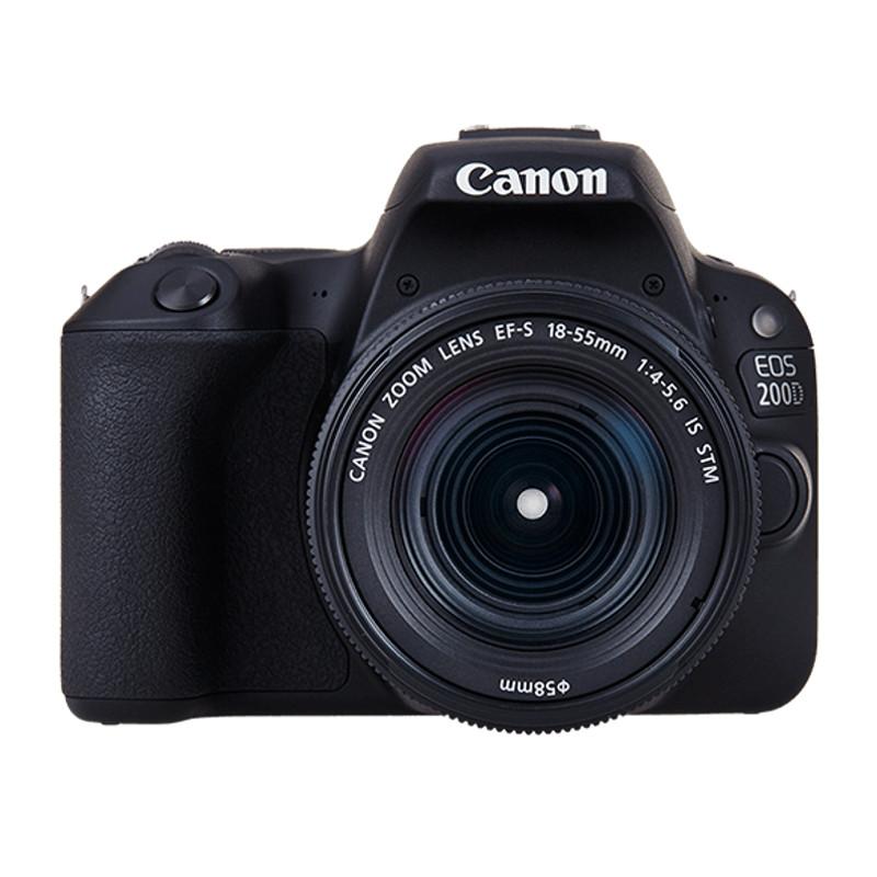 Купить - Canon Canon EOS 200D kit EF-S 18-55 DCIII Black (Официальная гарантия)