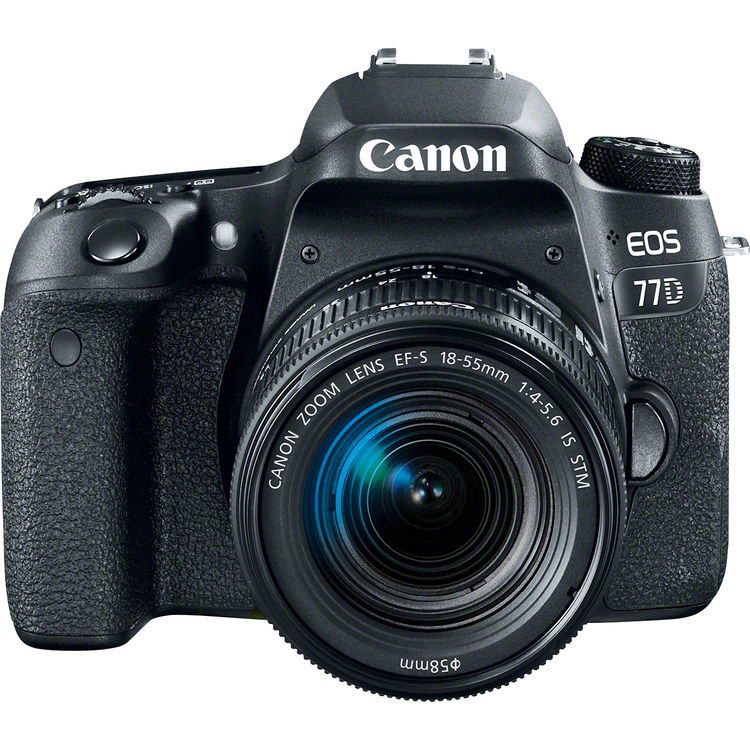 Купить - Canon Canon EOS 77D + EF-S 18-55mm IS STM Kit (EU)