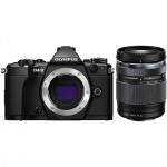Фото - Olympus E-M5 mark II 14-150 II Kit + HLD-8 + BLN-1 black/black (V207043BE010)