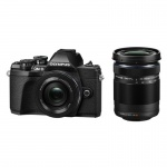 Фото - Olympus OLYMPUS E-M10 mark III Pancake Double Zoom 14-42+40-150Kit B/B/B (V207074BE000)