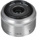 Фото - Nikon Объектив Nikon 1 NIKKOR 18.5mm f/1.8 Silver (JVA102DC)
