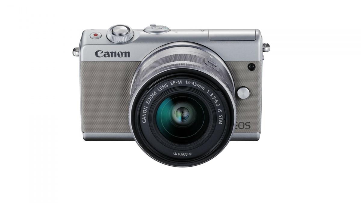 Купить - Canon Canon EOS M100 kit 15-45mm F3.5-6.3 IS STM Grey (Официальная гарантия)