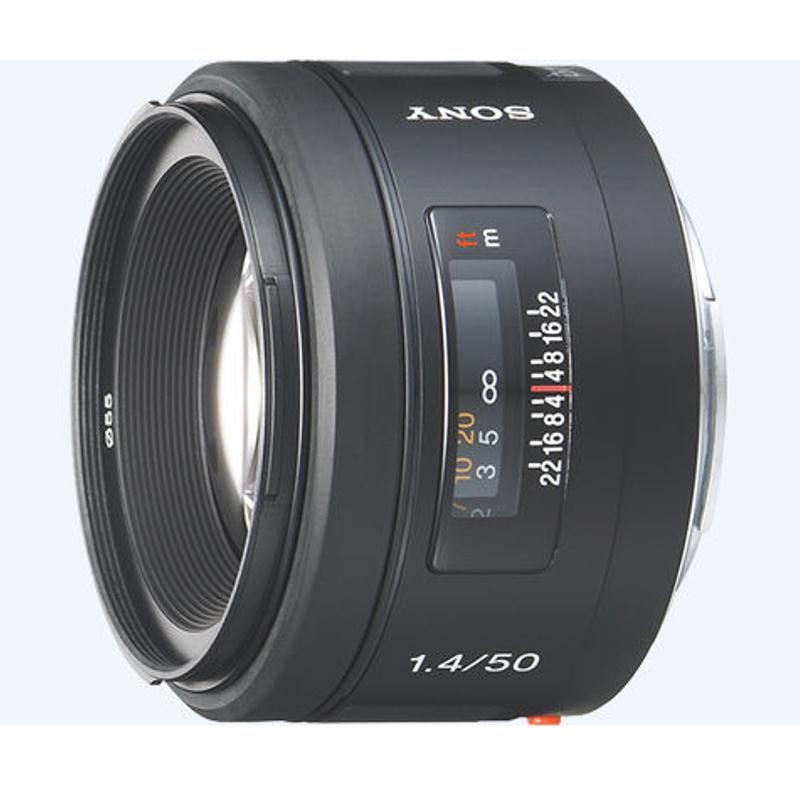 Купить - Sony Sony 50mm F1.4 (SAL50F14.AE)