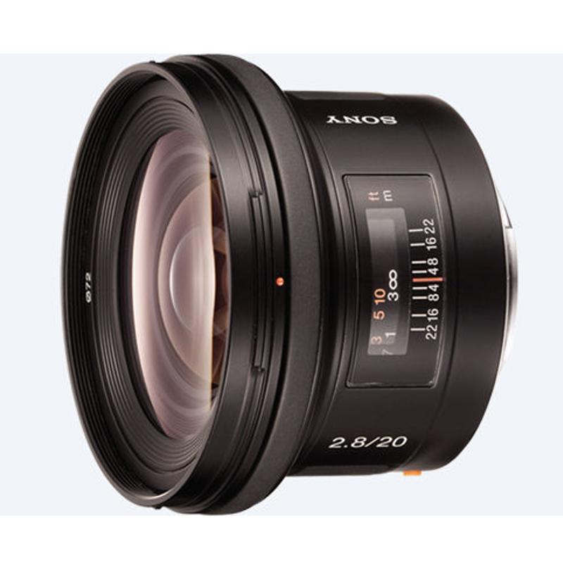 Купить - Sony Sony 20mm F2.8 (SAL20F28.AE)