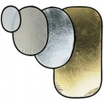 Фото - Manfrotto   SILVER/GOLD 120CM OVAL REFLEC (I4834)