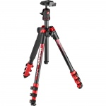 Фото - Manfrotto   Befree Alu Red new graphics (MKBFRA4RD-BH)