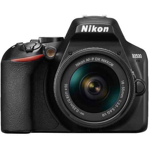 Купить - Nikon Nikon D3500 + AF-P 18–55 non VR (VBA550K002)