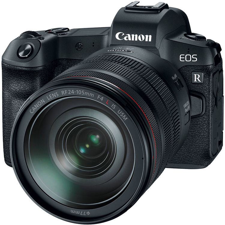 Купить - Canon Canon EOS R + RF 24-105L+ MT ADP EF-EOSR (EU)