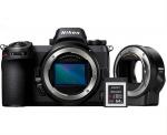 Фото - Nikon Nikon Z7 Body + FTZ Adapter kit (VOA010K002)