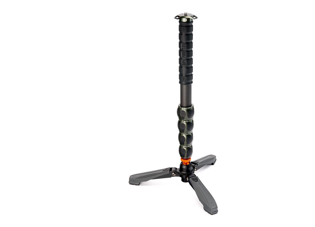 Купить - 3 LEGGED THING Монопод 3 LEGGED THING Alan Docz Карбоновый, 5 секций, в комплекте со стабилизирующими ножками DOCZ foot stabiliser (ALANKIT)
