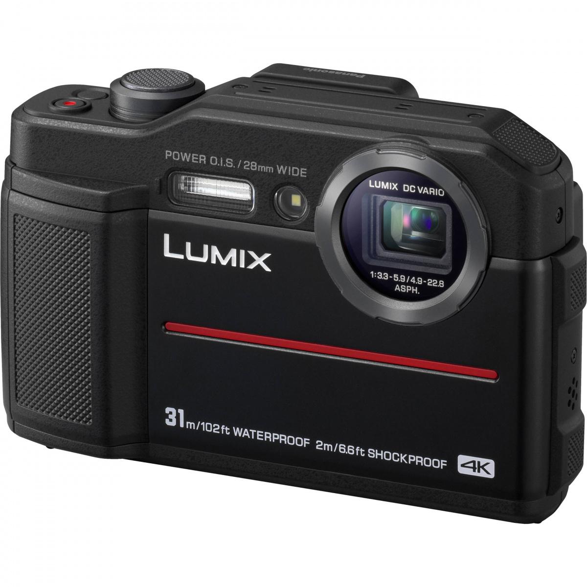 Купить - Panasonic Panasonic LUMIX DC-FT7EE-K Black + Подарочный сертификат 500 грн !!!