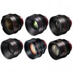 Фото - Canon Комплект объективов Canon CN-E 7 lens kit Primes Bundle 14/20/24/35/50/85/135 (M)