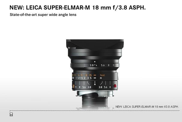Купить -  LEICA SUPER-ELMAR-M 18 mm f/3.8 ASPH.