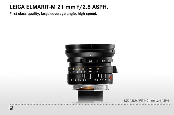 Купить -  LEICA ELMARIT-M 21 mm f/2.8 ASPH.