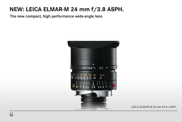 Купить -  LEICA ELMAR-M 24 mm f/3.8 ASPH.