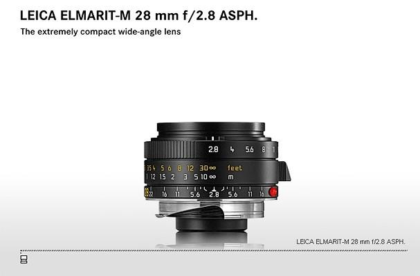 Купить -  LEICA ELMARIT-M 28 mm f/2.8 ASPH.