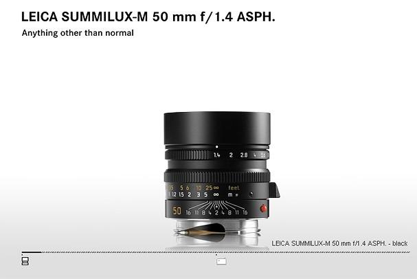 Купить -  LEICA SUMMILUX-M 50 mm f/1.4 ASPH.