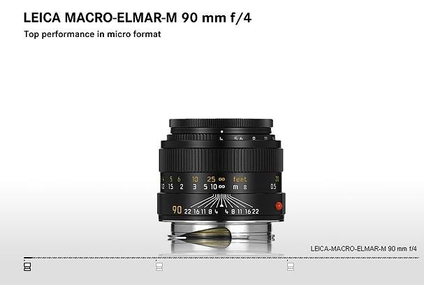 Купить -  LEICA MACRO-ELMAR-M 90 mm f/4