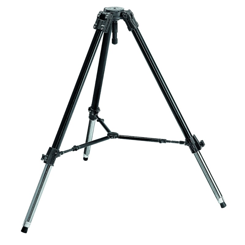 Купить -  Видеоштатив Manfrotto 528XB BLACK VIDEO/MOVIE HEAVY TRIPOD