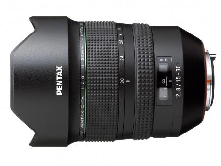 Новый сверхширокоугольный зум-объектив HD PENTAX-D FA 15-30mm F2.8ED SDM WR