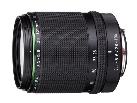 HD PENTAX-D FA 28-105mm F3.5-5.6ED DC WR — компактный, легкий, штатный зум-объектив