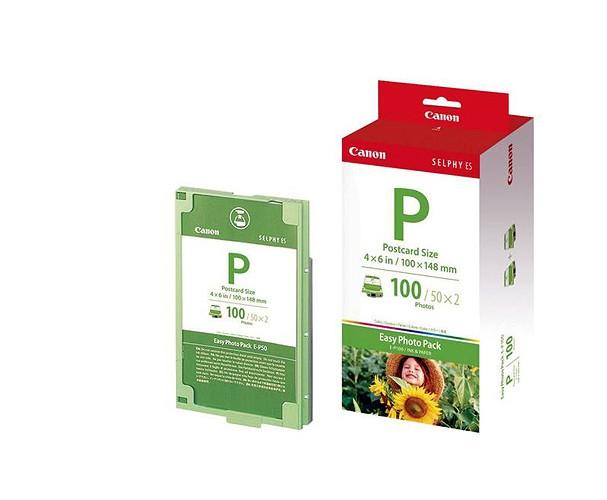 Купить -  Комплект расходных материалов Canon E-P100 для SELPHY ES-1