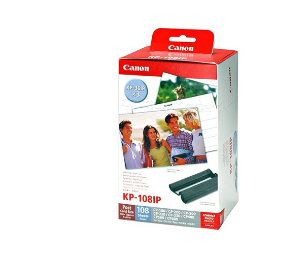 Купить -  Комплект расходных материалов Canon KP-108IP, IN