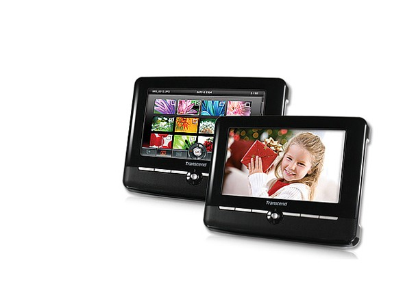 Купить -  Цифровая фоторамка Transcend 720 Black