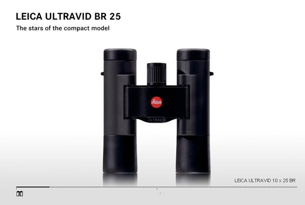Купить -  LEICA ULTRAVID 10x25 BR black